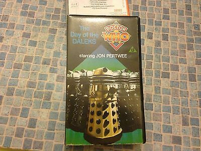 VHS - Doctor WHO - The Day of the Daleks (John Pertwee)