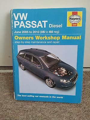 VW Passat Diesel  2005 to 2010 Haynes Manual