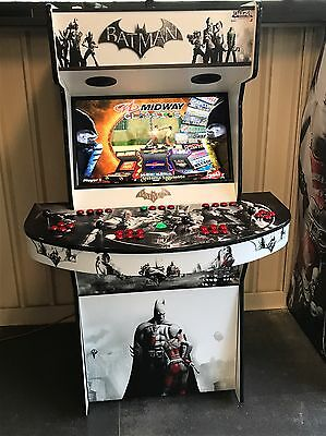 Arcade machine Bat Man 4 Player With 2TB Hyperspin Setup 30,000+ Games!!