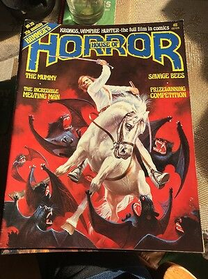 Hammer's House Of Horror #20 May 1978 Vintage Magazine Horror V/F.