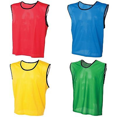 Unisex Adults Mesh Sports Training Bib Football Soccer Sport Practice Kit