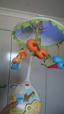 Fisher Price Brand New Cot Musical Mobile / Lamp