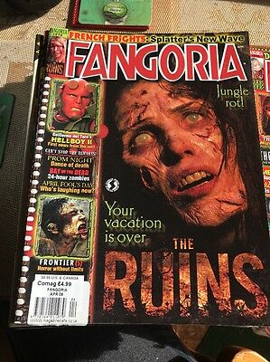 Fangoria Magazine #272 Ex Condition