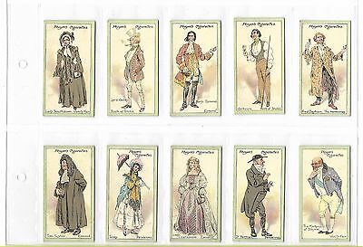 Players - Characters From Thackeray  - Full Set In Plastic Sleeves - 1913