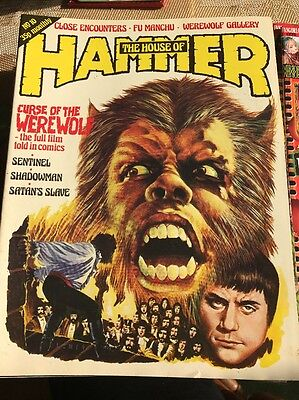 Hammer Films - The House Of Hammer Magzine #10
