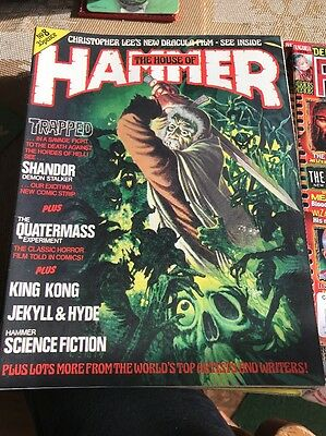 Hammer Films - The House Of Hammer Magzine #8