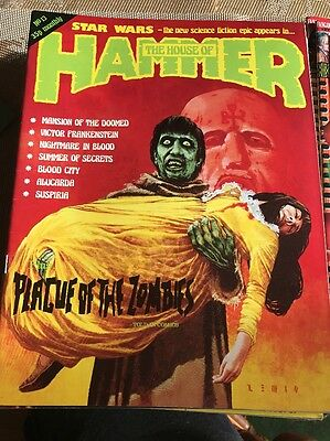 Hammer Films - The House Of Hammer Magzine #13