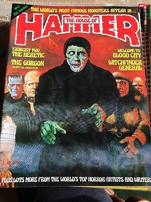 HAMMER  =  THE HOUSE OF HAMMER No. 12  =  SEPTEMBER 1977/MARCH 1978  =