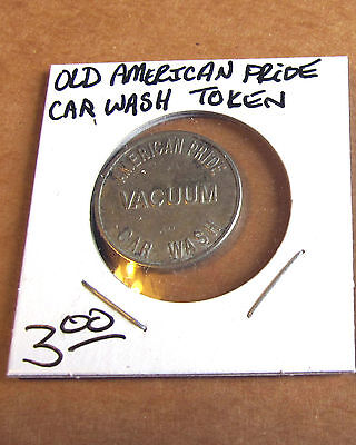 American Pride Car Wash Token