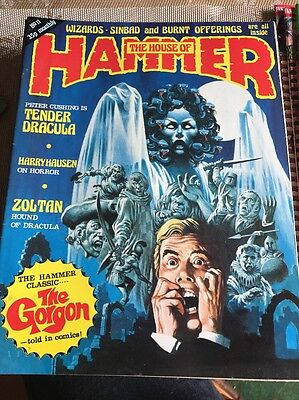 THE HOUSE OF HAMMER #11 - 1977  - The Gorgon - Scarce