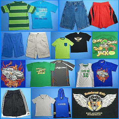 15 Piece Lot of Nice Clean Boys Size 10 Spring Summer Everyday Clothes ss166
