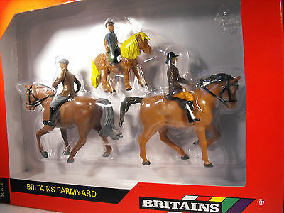 Britains Farms  Farmyard Animals Scale 1:32 Horses , Horses Pony And Riders Gift