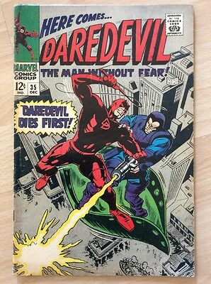 DAREDEVIL #35 - 1st PRINT - FINE CONDITION - MARVEL COMICS 1967
