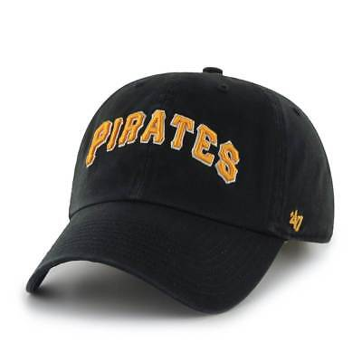 '47 Brand Pittsburgh Pirates Clean Up SCRIPT Adjustable MLB Cap