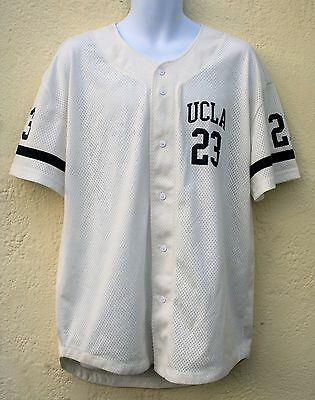 "Retro UCLA Baseball Top Shirt jersey Size Large 44"" Chest"