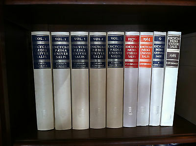 Encyclopedia  Universalis 36 Volumes