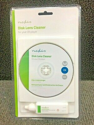 Konig Audio CD Wet/Dry Laser Lens Cleaner -  Brand NEW - FREEPOST