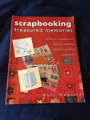 """""""Scrapbooking"""" paperback guide & ideas, new book"""
