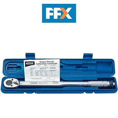 "Draper 3001A 1/2"" Square Drive 30 - 210Nm Ratchet Torque Wrench"