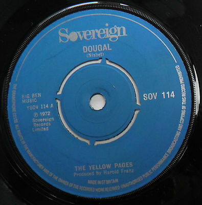 """Yellow Pages-Dougal-UK Sovereign Vinyl 7""""-Magic Roundabout Popsike-1972-HEAR"""