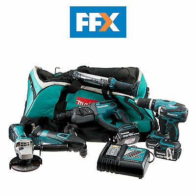 Makita  FFX6021M 18V LXT 4.0Ah Li-Ion Cordless 6 Piece Kit