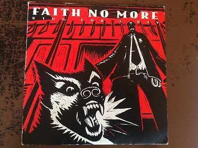 """Faith No More """"King For A Day, Fool For A Lifetime"""" Original UK Double Red Vinyl"""