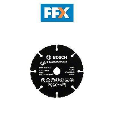 Bosch 2608623011 76mm Multi Wheel Carbide Cutting Disc