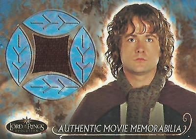 "Lord of the Rings Evolution - ""Pippin's Travel Cloak"" Memorabilia Costume Card"