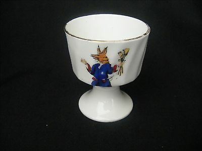 Fenton Crested China Egg Cup Trusty Servant