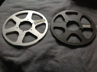 """2  x 10.5 Empty Spools for Reel to Reel 1/4"""" Tape"""