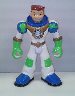 """5"""" Earth Ace #3 Planet Heroes Action Figure 2006"""