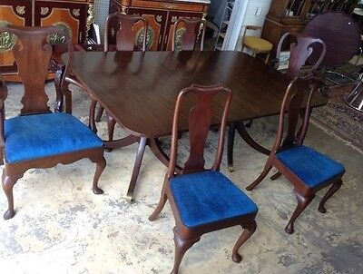 Solid Mahogany Dining Room Set Made by Kittinger Furniture Company