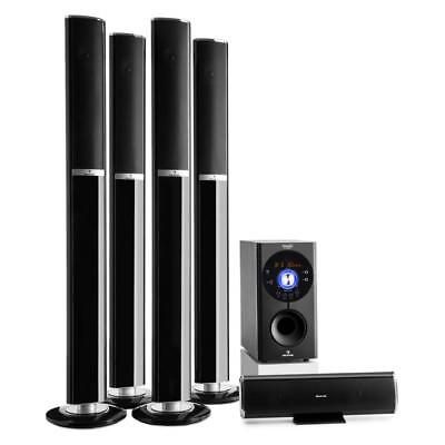 5.1 Surround Stereo System Heimkino Lautsprecher Boxen Usb Mp3 Player Bluetooth