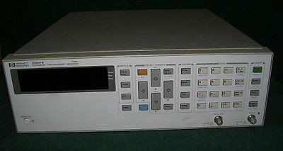 Synthesized Functional Sweep Generator HP 3324A