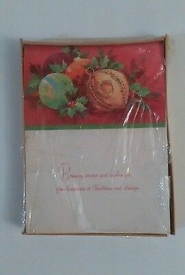 Vintage Grand Award Box of 20 Christmas Cards w/envelopes