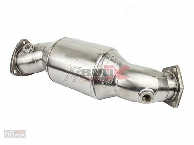 Bull-X Downpipe für Audi A4 B5/B6 + A6 C5 Pipe Kat - Attrappe Catless Tuning HG