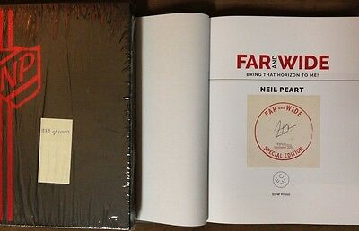 """NEIL PEART (RUSH) """"Far and Wide"""" Signed Ltd. Edition Hardback Book w/ Slipcase"""
