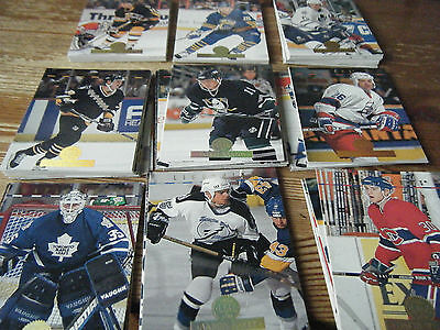 100  Leaf   1994 -1995    American Ice  Hockey Cards  Mint All Listed
