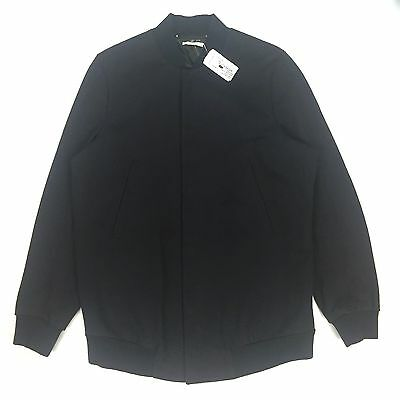 fb30d2718 NWT $1.5K PAUL Smith RUNWAY Men's Elongated Navy Knit Bomber Jacket L  AUTHENTIC
