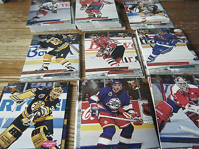 139  Fleer  Ultra   1993 - 1994   American Ice  Hockey Cards  Mint All Listed