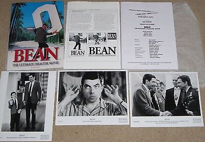 Mr Bean Rare Press Pack Bean The Ultimate Disaster Movie-Large Photo's,Info Etc