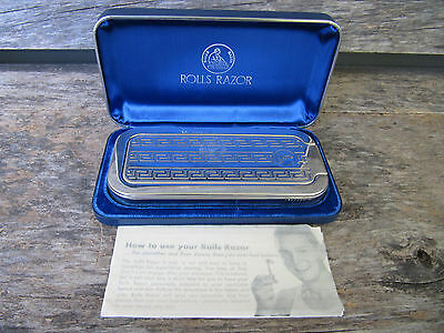 Vintage Rolls Razor Set The Whetter with Instructions