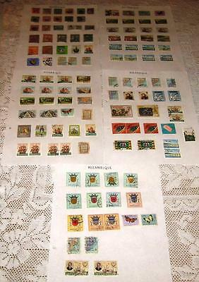 Mozambique Stamps ( 120 In Total ) 5 - Pages