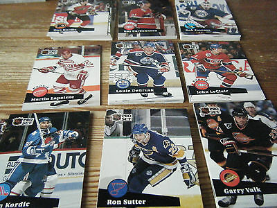 200   Pro  Set  1991 -1992   American Ice  Hockey Cards  Mint All Listed