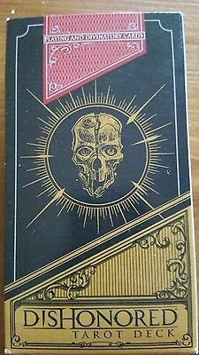 Dishonored tarot deck cards never used
