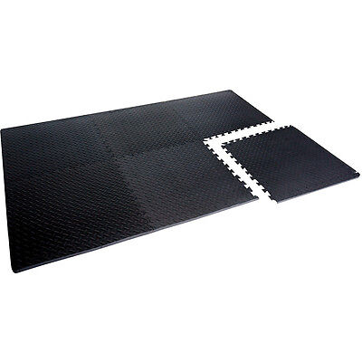 """Cap Barbell Anti-Microbial 24"""" X 24"""" 3/4"""" 6 Piece Puzzle Mat"""