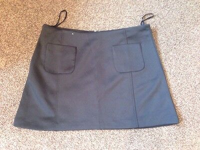 black colour new look skirt size 14