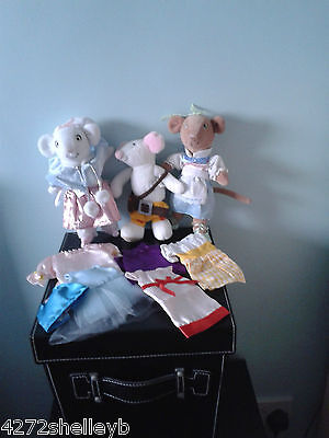Angelina Ballerina Fairy Tales Clothes, Dolls & Bags 29 Outfits