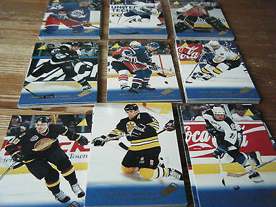 88  Pinnacle  - 1995 - 1996   American Ice  Hockey Cards  Mint All Listed