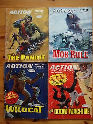 ORIGINAL 1960`s action picture library #`S 1, 2, +